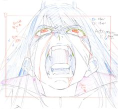 artist unknown darling in the franxx genga production materials Animal Sketches, Art Drawings Sketches, How To Drow, Key Frame, Frame By Frame Animation, Illustration Techniques, Darling In The Franxx, Anime Sketch, Character Design Inspiration