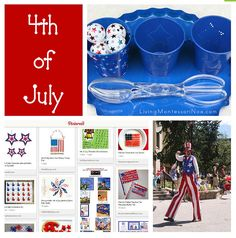 #1 Living Montessori Now shared her Montessori Monday – Montessori-Inspired 4th of July Activities which is a great round up of educational crafts & projects. Monday is also Deb's weekly link up! Join in the fun.