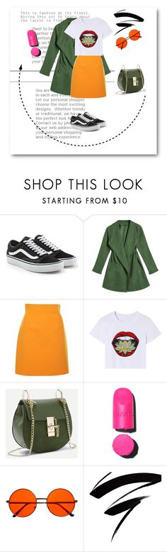 """""""not casual"""" by mkp659 ❤ liked on Polyvore featuring Vans, MSGM, Chanel and INDIE HAIR"""