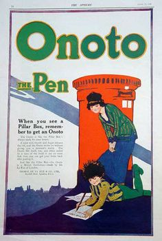 Onoto advert from The Sphere