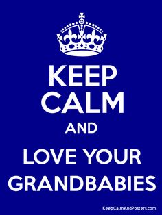it is truly very hard to keep calm when I am around any of my three beautiful grandbabies...because I get so excited when I see them!!!!