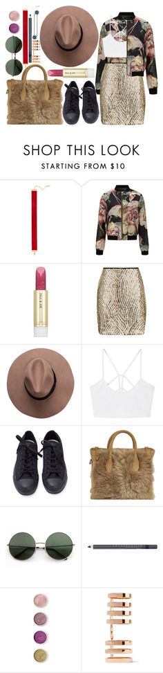 """""""Who says we have cold hearts?"""" by karllydolly on Polyvore featuring Chanael K, Miss Selfridge, Paul & Joe, Topshop, MANGO, Ralph Lauren, Chantecaille, Terre Mère, Repossi and L. Erickson"""