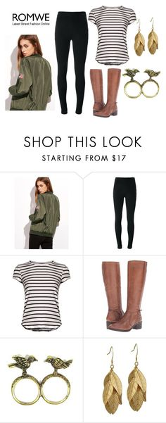 """""""Romwe"""" by realitybytes85 ❤ liked on Polyvore featuring Givenchy, Frame, Steve Madden and Emi Jewellery"""