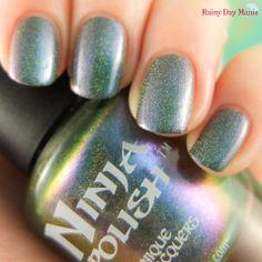 Ninja Polish Flibbertigibbet #nails #swatch #ninjapolish