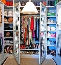 This is on the list to do to my closet. I have to get it organized. Whats the 1st step??