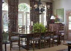www.candlerlloyd.com Nooks, Interiors, Curtains, Dining, Home Decor, Blinds, Food, Decoration Home, Room Decor