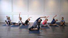 Kids Yoga, Yoga For Kids, Kids Yoga Training, Children's Yoga, Children's Yoga T. Power Yoga Videos, Best Yoga Videos, Yoga Videos For Beginners, Workout Videos For Women, Free Yoga Videos, Yoga Videos For Kids, Poses Yoga Enfants, Kids Yoga Poses, Yoga For Kids