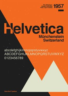Helvetica is one of the most popular typefaces. Its stylish dynamic design works beautifully with clear minimal compositions on digital platforms and print.