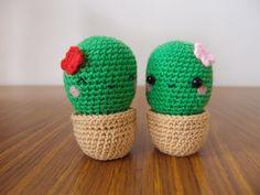 ganchillo cactus amigurumi