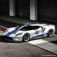 Ford GT (just a little modified) Ford Motor Company, Bugatti, Lamborghini, Ferrari, Us Cars, Sport Cars, Exotic Sports Cars, Exotic Cars, Le Mans 24