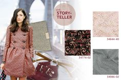The Storyteller: Indulge in a good book and visit your favourite café in these delicate laces and rich jacquards. Floral patterns and shiny ...