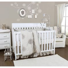 product image for The Peanut Shell Charlotte 3-Piece Crib Bedding Set