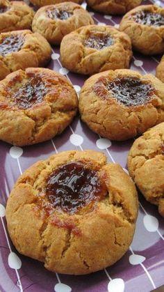 Biscotti marmellatosi su la cucchiarella