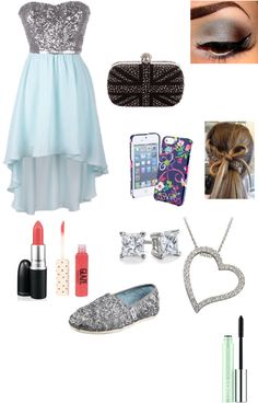 """8th Grade Formal"" by keelibresee ❤ liked on Polyvore"