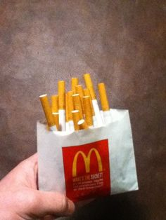 McDonald's french fries: as addicting as cigarettes? Cigarette Aesthetic, Smoking Kills, My Tumblr, Aesthetic Grunge, Aesthetic Pictures, Artsy, Punk, Cool Stuff, Design