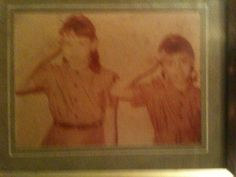 Brownies!  Me and My Sister Nan!