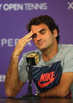 Roger Federer, press conference. Miami 2014
