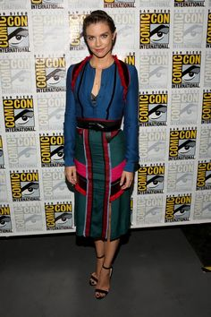 Pin for Later: Don't Miss 1 Wearable Outfit From The Stars at Comic-Con Lauren Cohan Wearing an Altuzarra dress.
