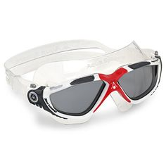 Aquasphere goggles Vista tinted redwhite ** Click image to review more details.Note:It is affiliate link to Amazon.