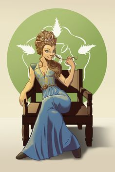 Margaery Tyrell lioness