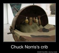Chuck Norris's crib