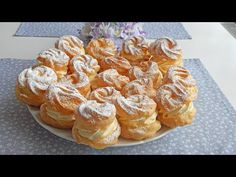 Profiteroles, Eclairs, Choux Pastry, Party Desserts, Relleno, Food Dishes, Doughnut, Donuts, Muffin