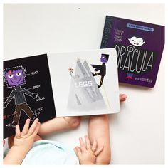 """""""I always love @babylitbooks (how could you not?) and I'm loving their two titles for Halloween, Frankenstein and Dracula. I'm giving away two copies this…"""""""