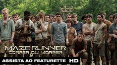 "Maze Runner: Correr ou Morrer   Featurette ""Desvendando o Labirinto"" Leg..."