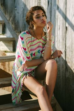 Billabong Cast Waters Cover-Up Poncho