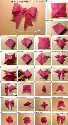 New Origami Paper Art Templates 31 Ideas Paper Origami Flowers, Paper Crafts Origami, Paper Crafting, 3d Origami Herz, Origami Star Box, Origami Folding, Origami Design, Pinterest Origami, Pinterest Diy