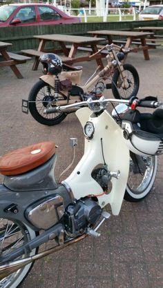 street cub custom cub moped honda c90 c70 c50 oldschool retro