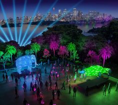 We're excited to announce that Taronga will be part of Vivid Sydney in 2016, with an illuminated trail of amazing and endangered species set to transform the Zoo into the festival's wildest precinct.