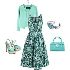 My favorite color! -- Classy, created by lislyn on Polyvore
