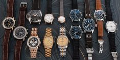 Today we have another big update including seven 18k gold pieces from Breitling, Rolex, Zenith, and Cartier.  On the steel front we've added three IWC pieces, a LeCoultre Memovox, Breguet Type XX, and an 8-Day Panerai Destro. Latest Watches, Popular Watches, Panerai Luminor, Breitling, Iwc, G Shock Watches, Casio G Shock, Gents Watches, Rolex Watches
