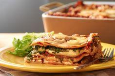 Λαζάνια με λαχανικά και γιαούρτι | InfoKids