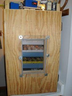homemade cabinet incubator instructions