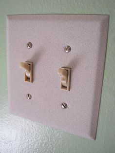 Spray Painted Outlet Covers