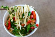 Clean Eating Recipe Box: Peanut Soba Noodle Bowls