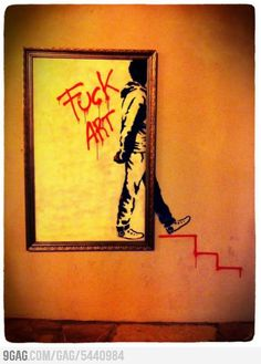 Im sick of contemporary art, so Im leaving you right here - actually pretty cool