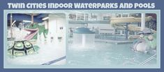 Just in time for January, another list of indoor Waterparks!