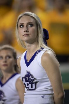 Cheerleader Girls, Cheerleader Images, Football Cheerleaders, Cheerleading, Abilene Christian, Nutty Buddy, Jim Brown, Western Michigan