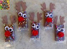 Rudolph Reindeer Brownies |