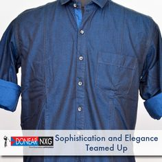 Sophistication and style comes naturally with exclusive Donear NXG clothing  #style #fashion #clothing #men
