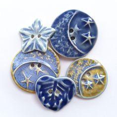 Buttons...metal, vintage, ceramic, glass, plastic.......buttons......D.