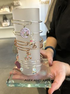 New Alex and Ani Sets Are Perfect for Spring Disney Couture Jewelry, Disney Jewelry, Disney Charm Bracelet, Bangle Bracelets With Charms, Alex And Ani Bracelets, Bangles, Cute Disney, Disney Style, Cute Jewelry