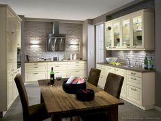 Traditional Antique White Kitchen Cabinets  #24 (Alno.com, Kitchen-Design-Ideas.org)