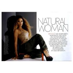 ELLE Editorial Natural Woman, December 2006 Shot #1 ❤ liked on Polyvore