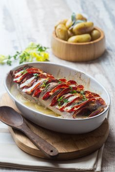 Filet mignon façon Orloff à la Coppa & Mozzarella