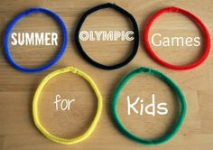 Summer Olympic Games for Kids