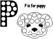DLTK's Crafts for Kids ~ Our Puppies Poem Poster or color